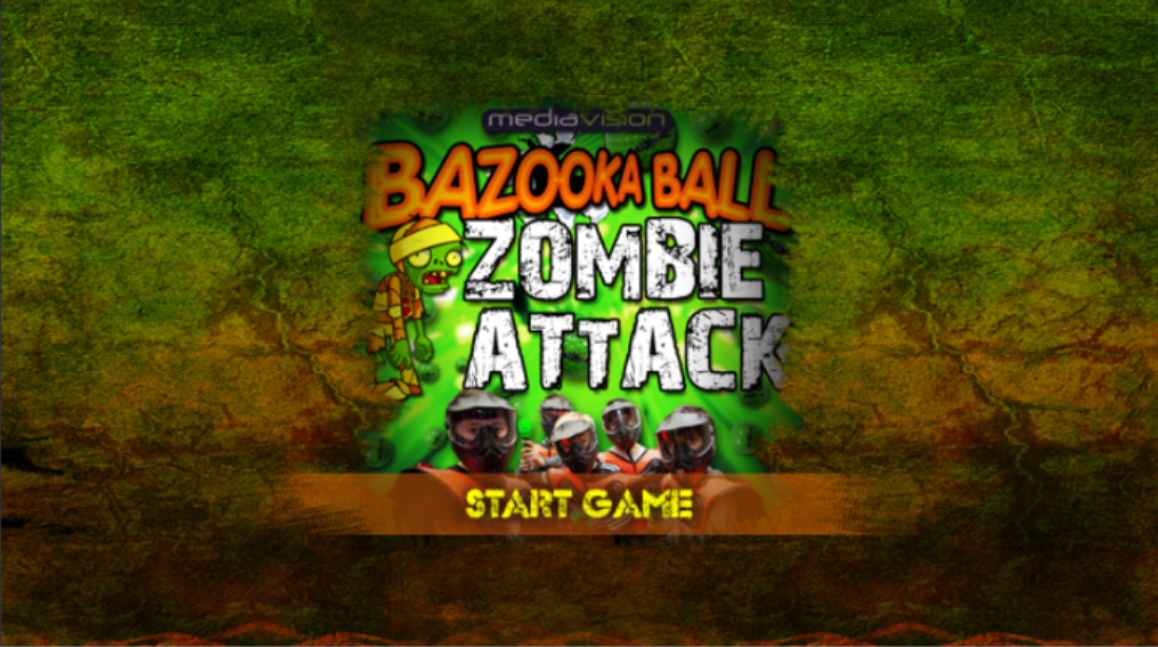 Bazooka Ball Game- screenshot