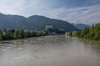 Photo: Docieram do Kufstein, miasta leżącego bezpośrednio przy granicy z Niemcami.