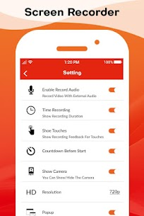 HD Screen Recorder  : Audio Video Recorder App Download For Android 5