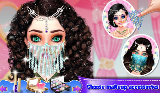 Beautiful Belly Dancer Girl Salon : Dressup Games screenshots 7