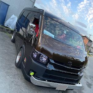 ハイエースワゴン TRH214Wのカスタム事例画像 德ちゃん(洒落屯車)さんの2021年10月17日06:56の投稿