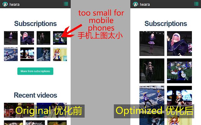 Iwara Mobile Optimizer