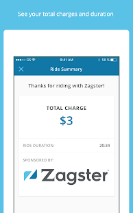 Zagster- screenshot thumbnail
