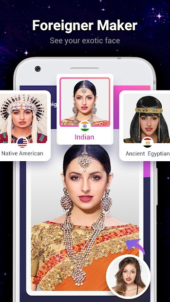Astrology Predictor-Face scanner,Palm reader,Aging Android App Screenshot