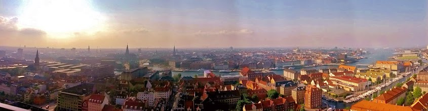 "Photo: ""Copenhagen from the top of Church of Our Savior's Spire"" København, Danmark  Anna Hartmann  3rd Place, Cityscapes  I climbed about 400 steps to get to the top of spire to take this photo!"
