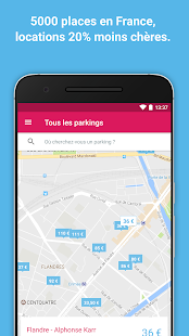 Yespark: parking lot rental- screenshot thumbnail
