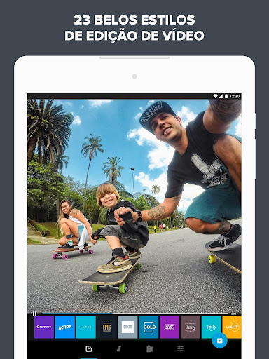 Quik - Editor de Vídeo da GoPro para fotos, clipes screenshot 10