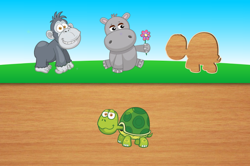 Cute puzzles - game for kids