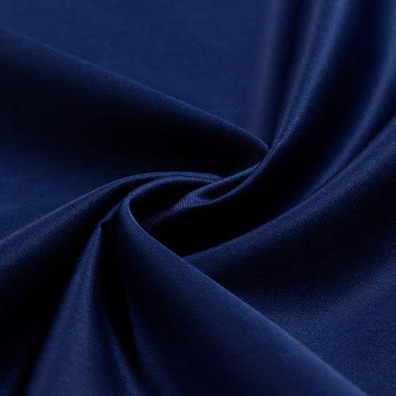 Bomullssatäng - mörkblå