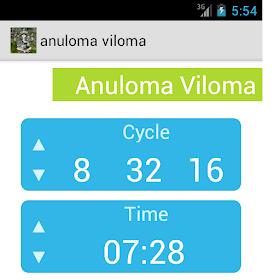 Anuloma Viloma Timer
