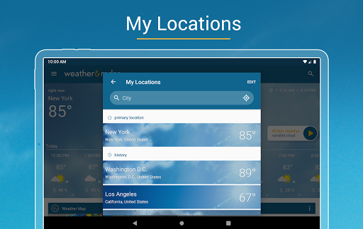Weather & Radar USA - Severe weather alerts  screenshots 13
