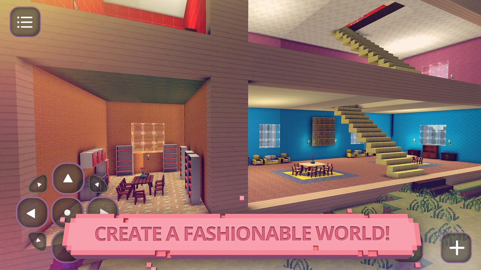 Glam doll house girls craft android apps on google play Create a house game