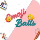Line Draw Puzzle - Emoji Love Balls Games icon
