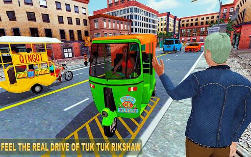 Tuk tuk Chingchi Rickshaw: City Rickshaw driver ss1