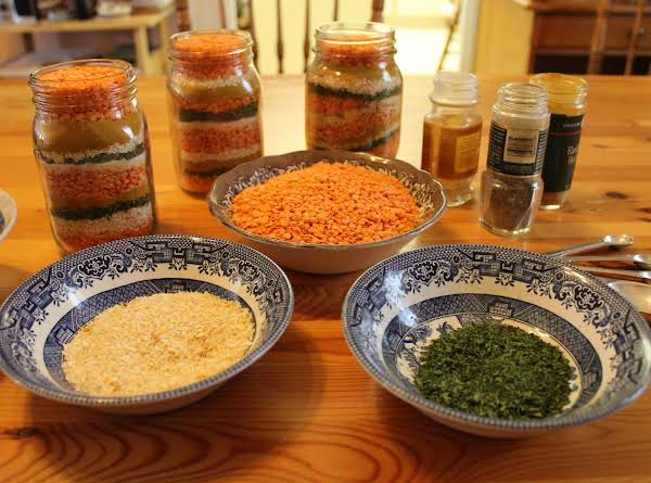 Curried Coconut Lentil Soup In A Jar For Gifts Recipe
