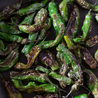 Blistered Shishito Peppers.
