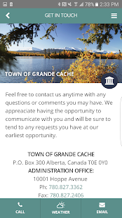 Grande Cache- screenshot thumbnail