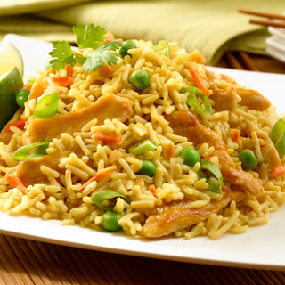 Peanut Chicken Fried Rice