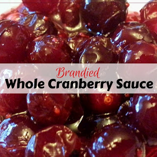 Brandied Whole Cranberry Sauce.