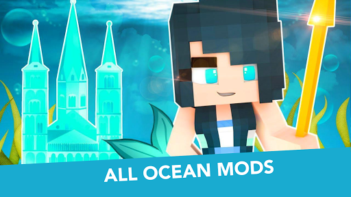 MCPE Mermaid and Tail MOD  screenshots 6