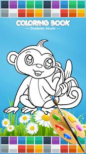 coloring cute animals screenshot thumbnail