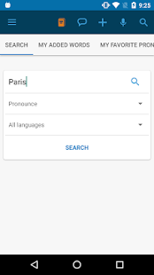 Forvo Pronunciation Guide- screenshot thumbnail