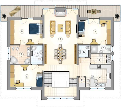 Aladyn - Rzut piętra