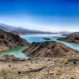 Gomal Dam by Abdul Rehman - Instagram & Mobile iPhone ( pakistan, mountains, dam, lake, kpk, gomal,  )