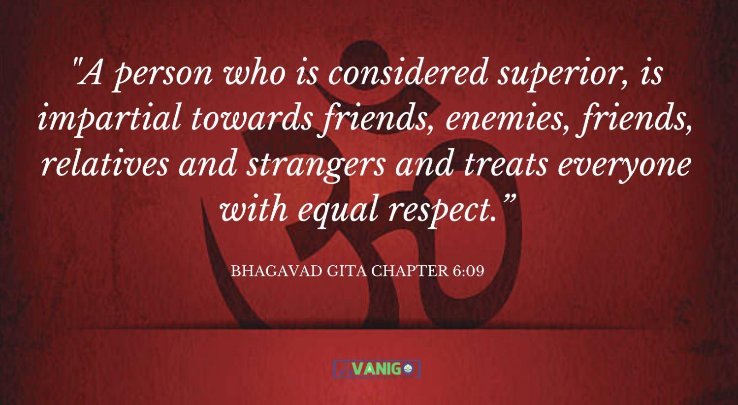 Bhagvad Gita Chapter 6:09