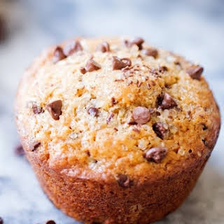 Bakery-Style Chocolate Chip Muffins.