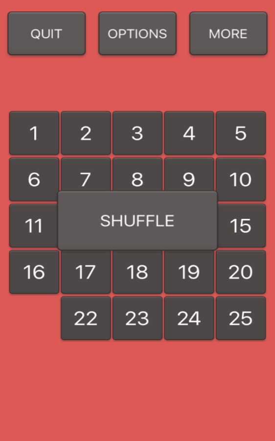 Number Sliding Puzzle- screenshot