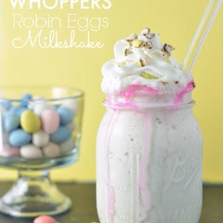Whoppers Robin Eggs Milkshake.