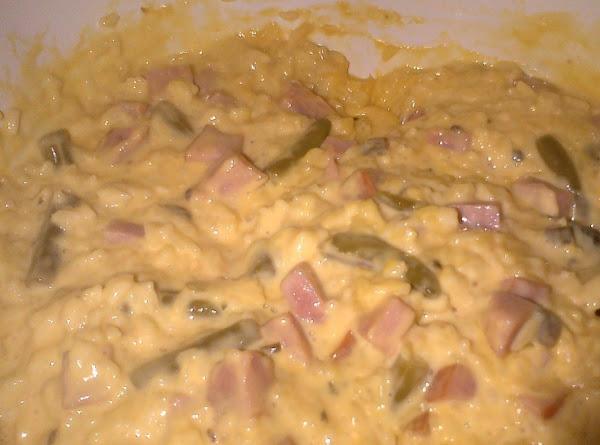 Cheesy Ham And Rice Casserole Recipe