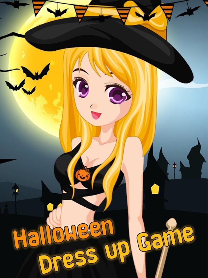 halloween dress up game screenshot - Dress Up Games For Halloween