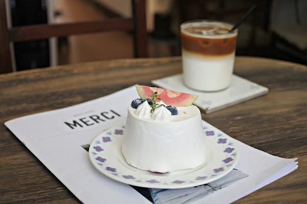 Mercicréme舒適且重視細節的老宅咖啡店讓你像回家坐坐 新埔站