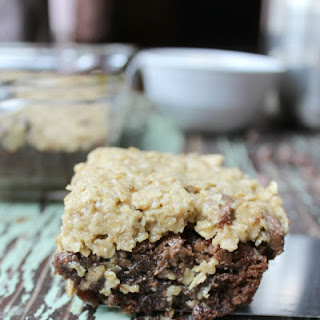 Oatmeal Cookie Dough Brownies.