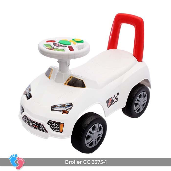 Xe ô tô chòi chân cho bé Broller CC-3375-1 có nhạc 5