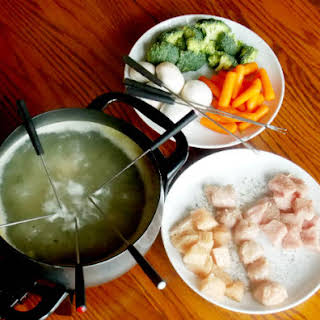 Clean Eating Fondue.