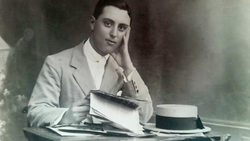 Maestro Francisco González (Turre, 1903-1970) , padre de Pepe de Piedad de Turre.