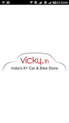 Vicky.in Car and Bike App - screenshot