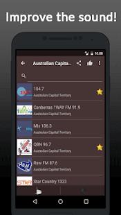 Radio Online Australia - náhled