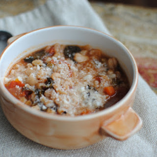 Hearty Vegetable Soup with Farro