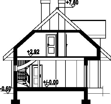 Świdnica dw7a - Przekrój