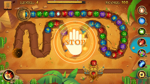 Jungle Marble Blast  screenshots 4