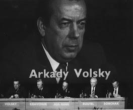 "Photo: DAVOS/SWITZERLAND, JAN 1991 - Arkady Volsky; Leonid Kravchuk; Aga Khan; Arnold Rüütel; Anatoly Sobchak, Mayor of St Petersburg, captured during the Annual Meeting of the World Economic Forum in Davos in 1991. Copyright <a href=""http://www.weforum.org"">World Economic Forum</a> (<a href=""http://www.weforum.org"">http://www.weforum.org</a>)"