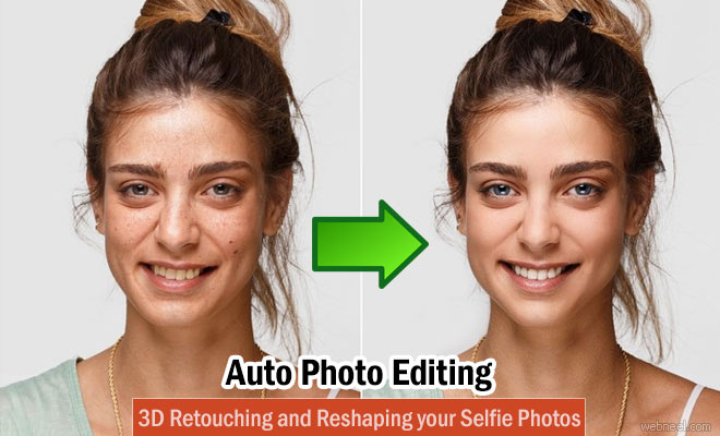 Photo: Auto Photo Retouching and 3D Reshaping your Selfie Photos - IOS App http://webneel.com/facetune2-3d-photoediting-app