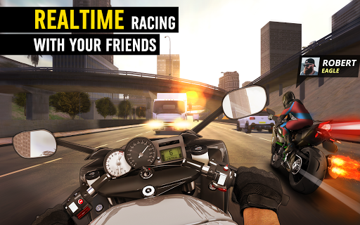 MotorBike: Traffic & Drag Racing I New Race Game apkpoly screenshots 11