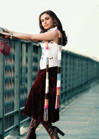 Rani Mukerji in Kabhi Alvida Na Kehna MOvie, Rani Mukerji in high heels