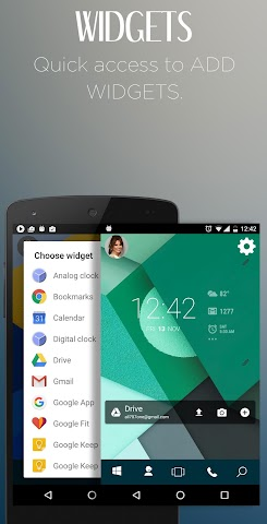 android Win Launcher Theme & Wallpaper Screenshot 2
