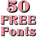 Fonts for FlipFont 50 12 icon
